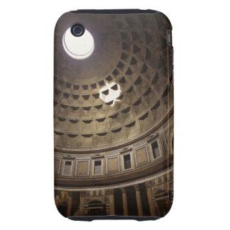 Luz que brilla con oculus en el panteón adentro tough iPhone 3 funda