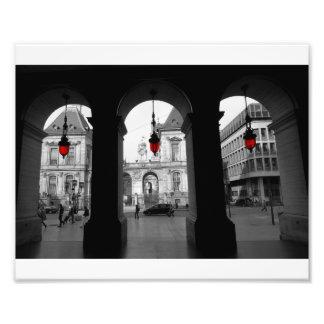 Luz roja 2 fotografías