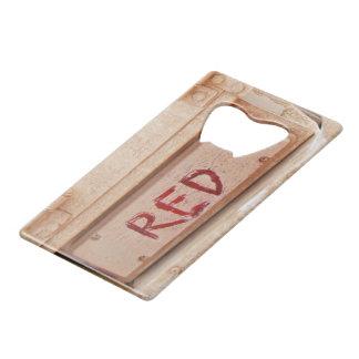 Luz rústica roja de la cola de la puerta posterior