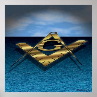 Luz sobre el mar póster