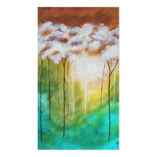 Luz temprana de los amaneceres - tarjeta del tarjetas de visita