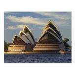 Luz temprana en el teatro de la ópera de Sydney, Postal