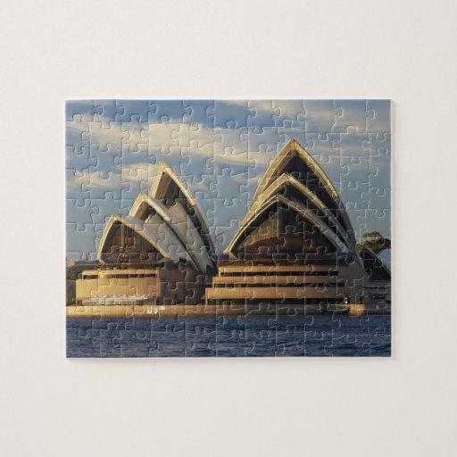 Luz temprana en el teatro de la ópera de Sydney, S Puzzle