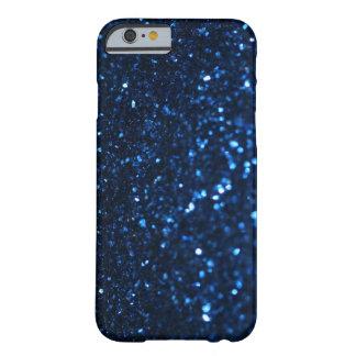 Luz tenue del negro azul funda de iPhone 6 slim