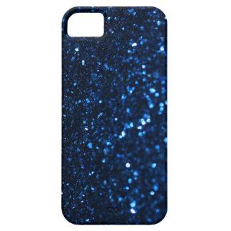 Luz tenue del negro azul funda para iPhone 5 barely there
