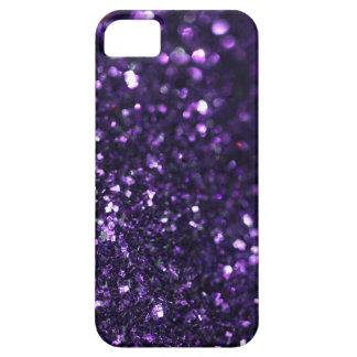 Luz tenue púrpura iPhone 5 carcasa