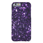 Luz tenue púrpura funda de iPhone 6 barely there