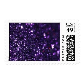 Luz tenue púrpura