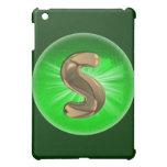 Luz verde del monograma S del oro del TAXI