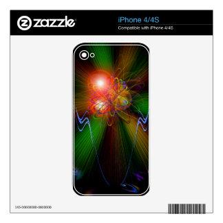 Luz y energía mágicas - und Energie 8 de Licht Calcomanía Para El iPhone 4