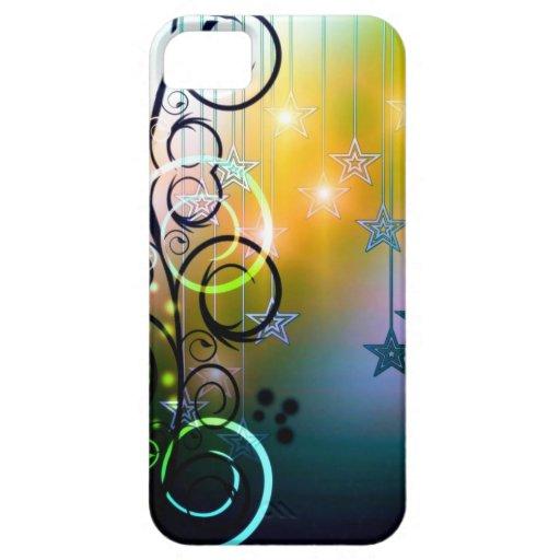 ¡Luz y estrellas! iPhone 5 Case-Mate Fundas