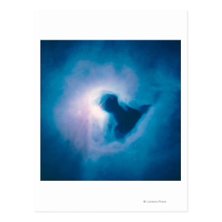 Luz y sombra en la nebulosa de Carina Tarjetas Postales