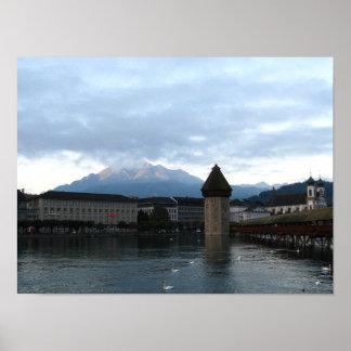 Luzern, Switzerland Poster
