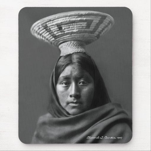 Luzi - A Papago Woman Mouse Pad