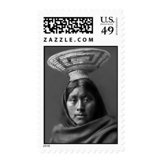 Luzi - A Papago Woman Postage Stamp