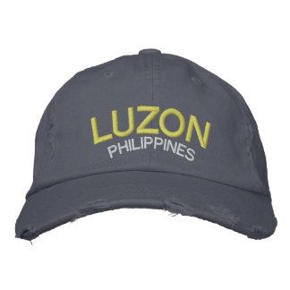 Luzón Filipinas apenó el gorra de béisbol