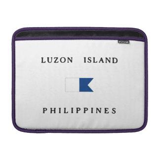 Luzon Island Philippines Alpha Dive Flag MacBook Air Sleeve