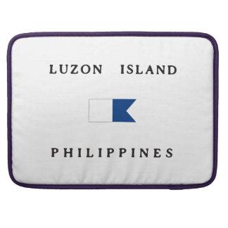 Luzon Island Philippines Alpha Dive Flag Sleeve For MacBooks