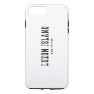 Luzon Island Philippines iPhone 7 Plus Case