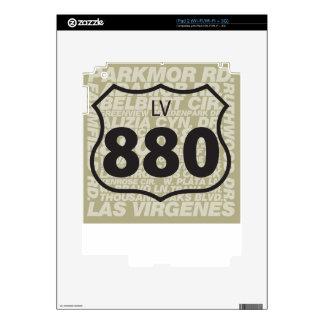 LV 880 - Carretera de Las Virgenes iPad 2 Calcomanía
