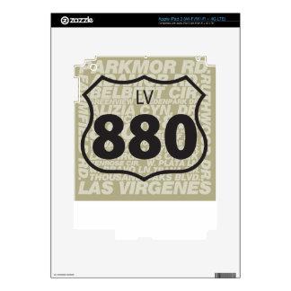 LV 880 - Carretera de Las Virgenes Pegatinas Skins Para iPad 3