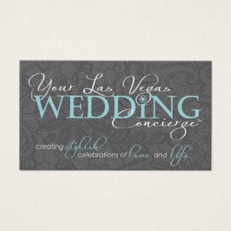 LV Wedding Concierge Business Cards