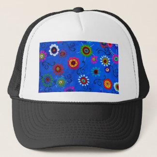 LV WHIMSICAL FLOWERS I TRUCKER HAT