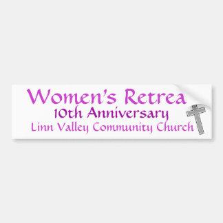 LVCC Women's Retreat Bumper Sticker