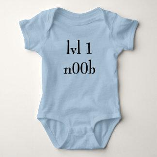 LVL 1n00b Body Para Bebé