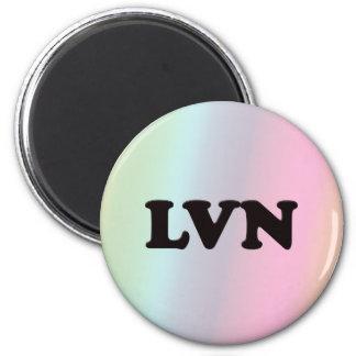 LVN 2 INCH ROUND MAGNET