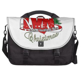 LVN CHRISTMAS Licensed Vocational Nurse Computer Bag