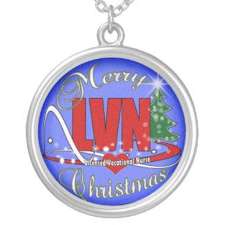 LVN CHRISTMAS NECKLACE LICENSED VOCATIONAL NURSE