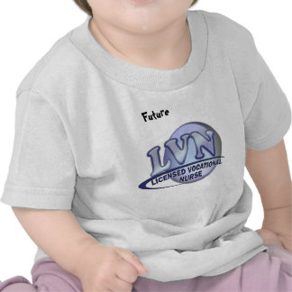 LVN Fun Blue Logo LICENSED VOCATIONAL NURSE Shirts