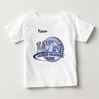 LVN Fun Blue Logo LICENSED VOCATIONAL NURSE Tee Shirt