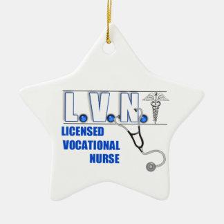 LVN LICENSED VOCATIONAL NURSE CHRISTMAS ORNAMENT