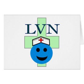 """LVN """"Licensed Vocational Nurse"""" gifts Card"""