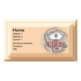 LVN Nurse Axiom Business Card Templates
