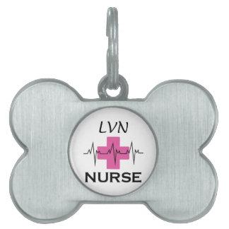 LVN NURSE PET TAGS