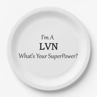 LVN 9 INCH PAPER PLATE