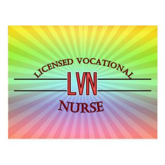LVN SPECIALIST NURSE POSTCARD