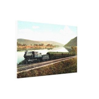 LVRR Black Diamond Express Canvas Print