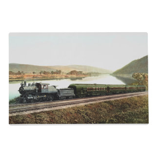 LVRR Black Diamond Express Laminated Placemat