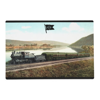 LVRR Black Diamond Express Placemat