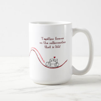 """LW heart EF"" Coffee Mug"