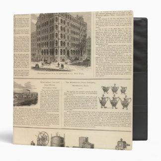 LW Lawrence and Bankers Birmingham Iron Vinyl Binder