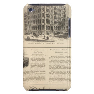 LW Lawrence and Bankers Birmingham Iron iPod Touch Case-Mate Case