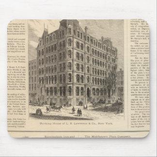 LW Lorenzo e hierro de Birmingham de los banqueros Mouse Pads