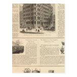 LW Lorenzo e hierro de Birmingham de los banqueros Tarjetas Postales
