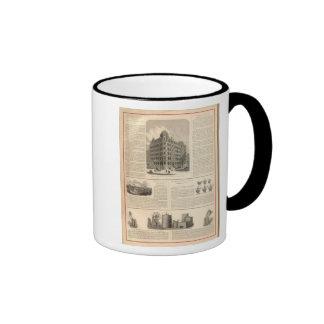 LW Lorenzo e hierro de Birmingham de los banqueros Taza De Café