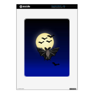 LWood Bat 2 Halloween Decals For The iPad